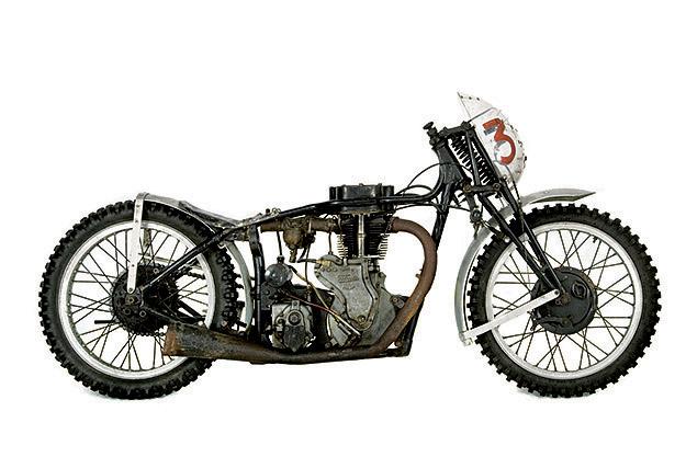 Burt Munro/Duncan Meikle special Velocette drag bike