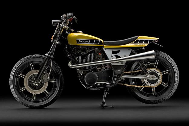 Yamaha SR500 street tracker by Randall Cordero