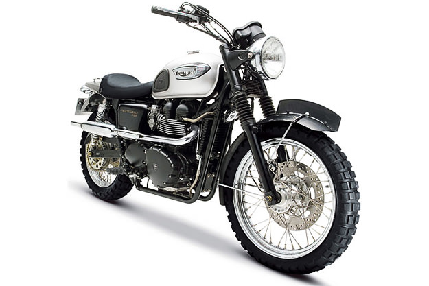 The Triumph Scrambler created for MI3