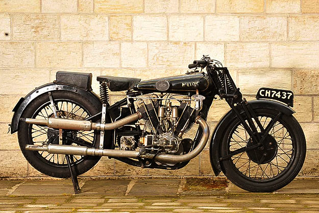 1928 McEvoy-JAP 8/45hp 980cc V-twin sold at Bonhams