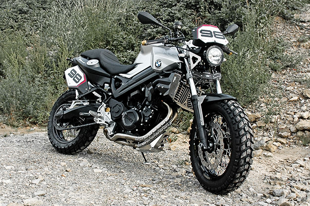 BMW F 800 ScrambleR by Touratech
