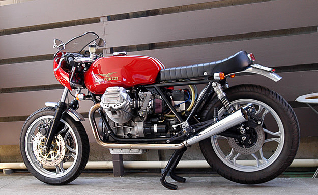 Moto Guzzi 850 Le Mans customized by Ritmo Sereno