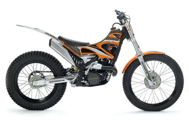 Scorpa SR125-2T LongRide trials bike