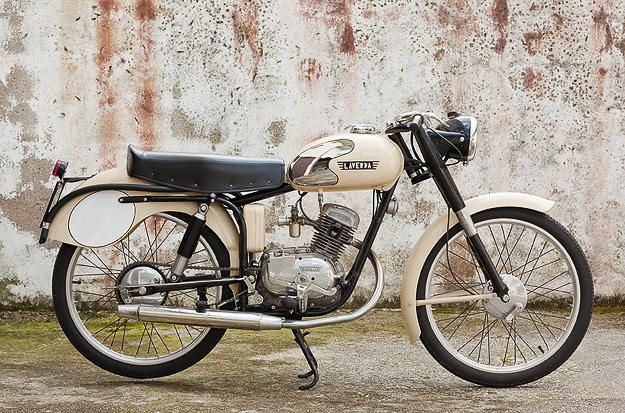 1953 Laverda 75 Sport classic motorcycle