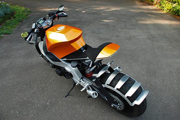 Honda Cbr1000f Hurricane Custom Bike Exif
