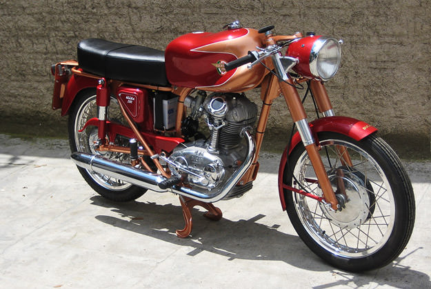 Ducati 200 Elite classic motorcycle