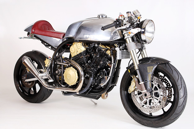 Aprilia RSV-based cafe racer by Taimoshan Cycle Works