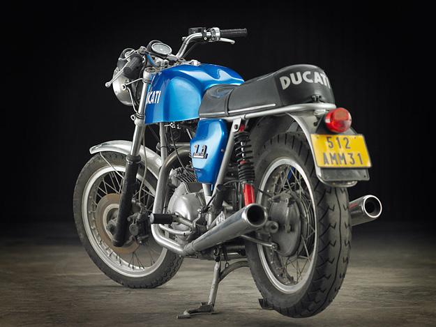 Restored: A 1972 Ducati 750 GT