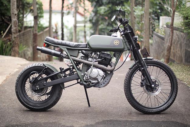 Honda CB125 custom