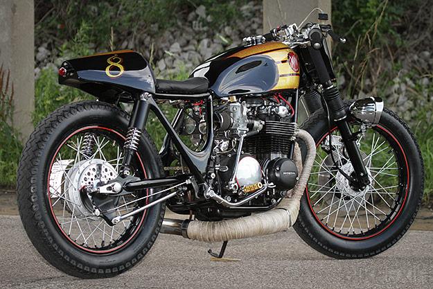 gallery for gt 1972 honda cb500 cafe racer
