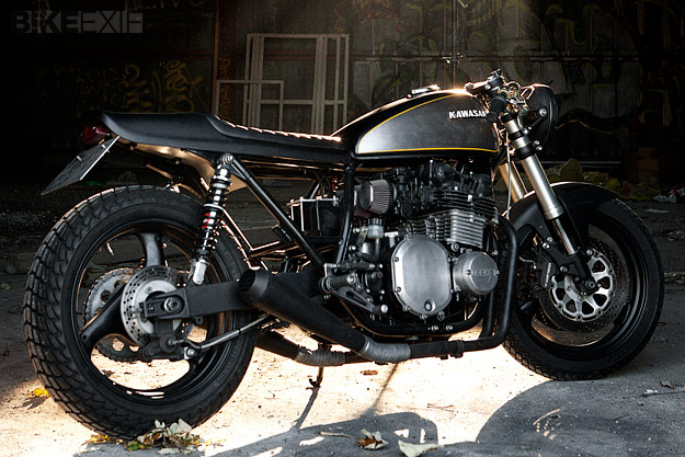 Kawasaki Z1000 by Wrenchmonkees