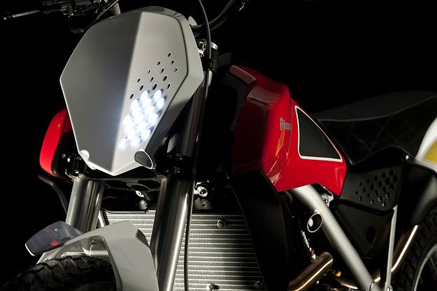Scrambler motorcycle concept by Husqvarna