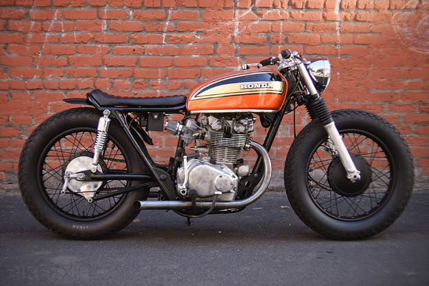 honda cb450 cafe racer | bike exif