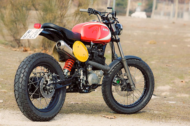 Yamaha XT600 custom built by Spain's Radical Ducati workshop.