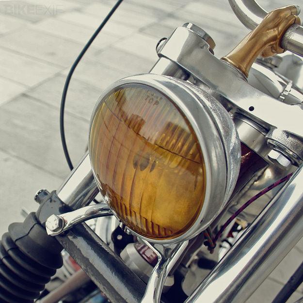 Panhead Harley