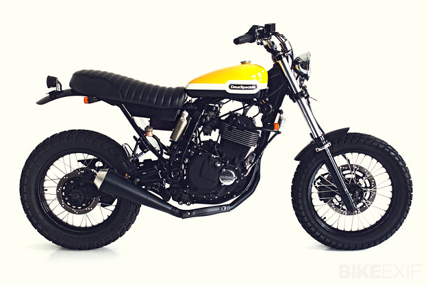 DR650 Suzuki customized by Deus
