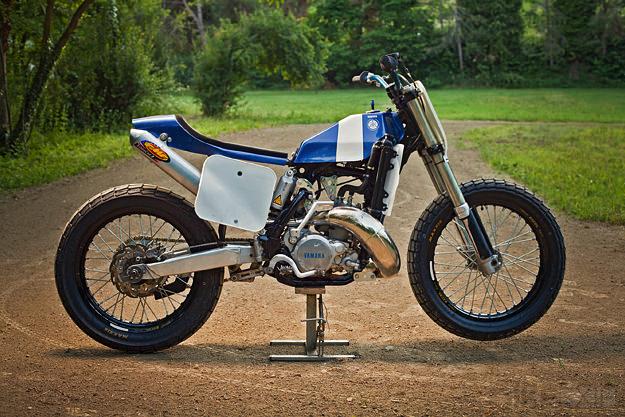 Yamaha yz250 flat tracker bike exif for Yz yamaha 250