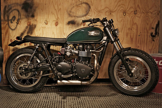 Custom Bonneville by CRD