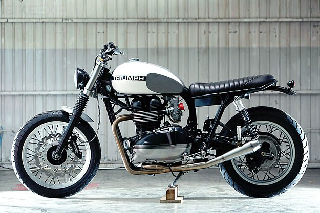 Triumph Thruxton by Kiddo Motors