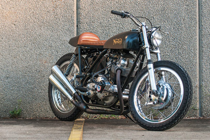 Custom Norton Commando