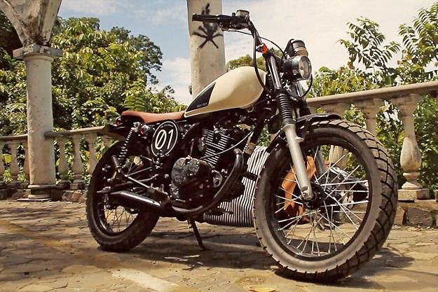 Suzuki GN motorcycle
