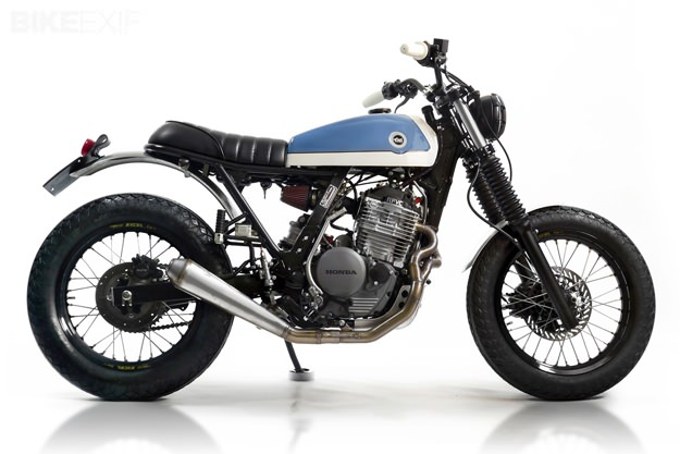 Custom Honda Dominator by Cafe Racer Dreams