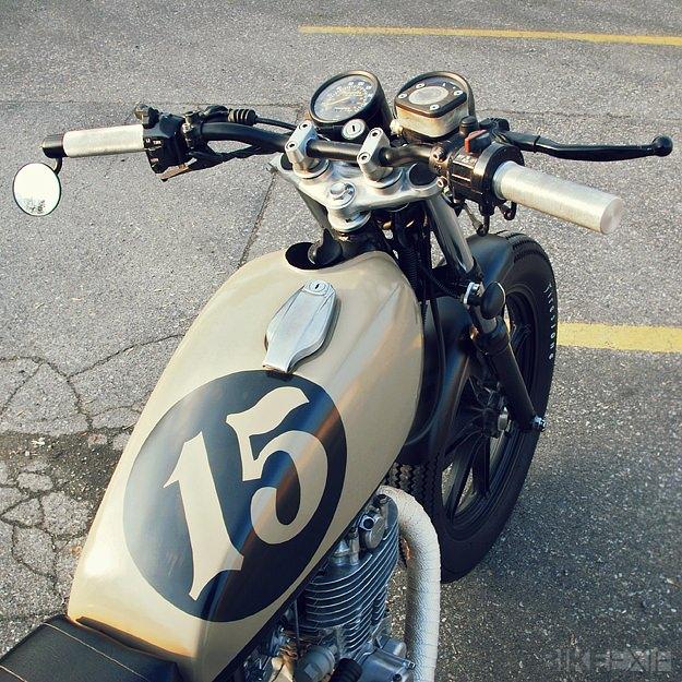 Custom Yamaha SR500