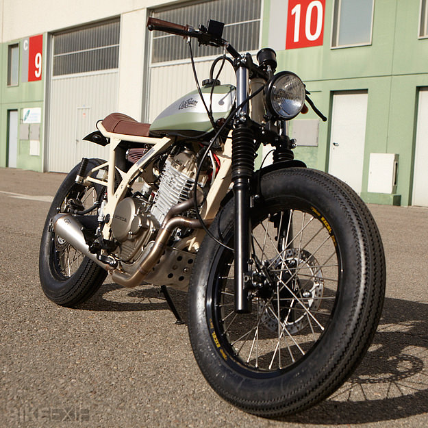Honda NX650 custom motorcycle