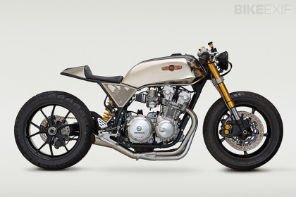 Honda CB cafe racer by Classified Moto.