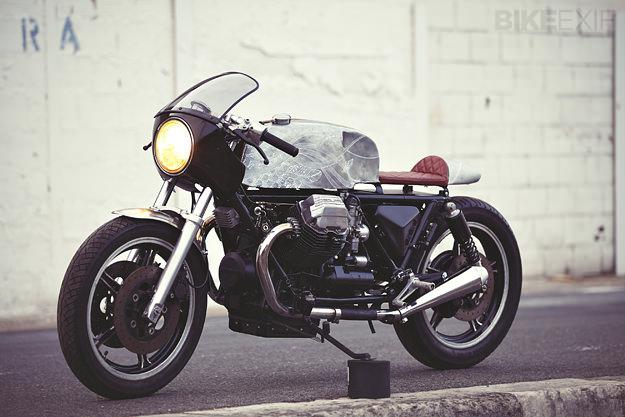 Custom Moto Guzzi Le Mans