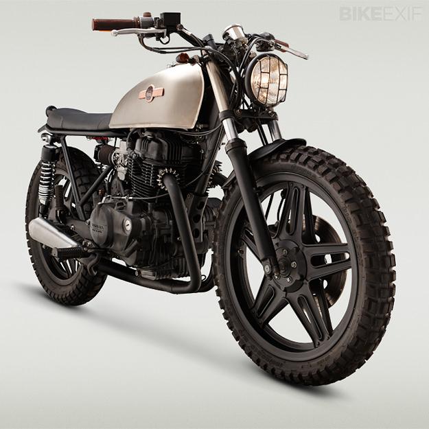 Honda CB400 by Classified Moto | Bike EXIF