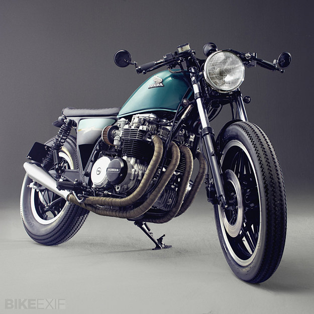 Honda CB650 custom motorcycle