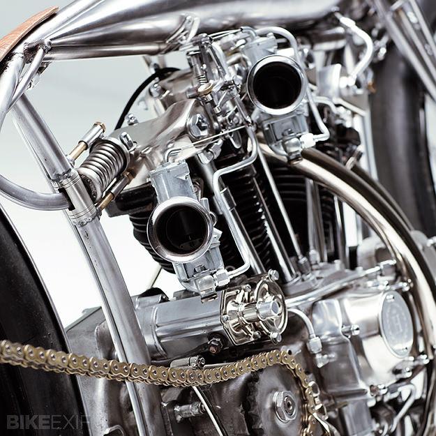 Harley-Davidson Ironhead by Hazan Motorworks