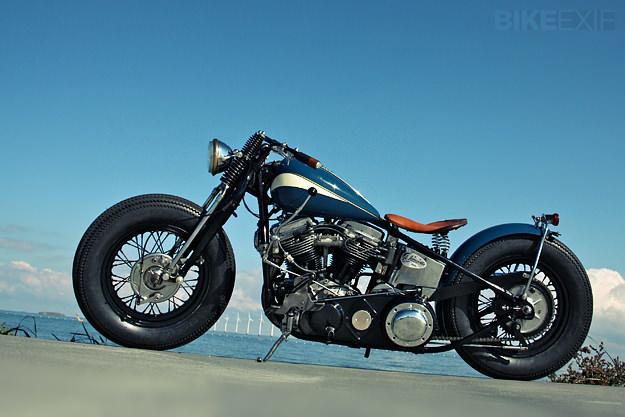 Harley-Davidson Panhead custom