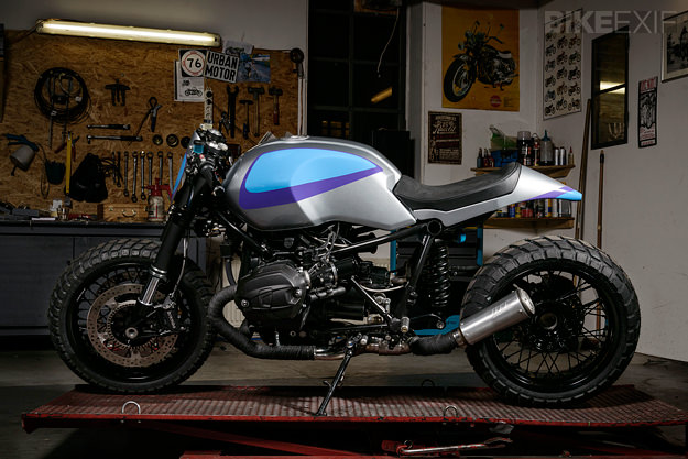 BMW R nineT custom motorcycle