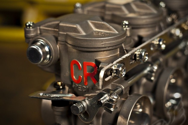 Building a cafe racer: Keihin CR carbs