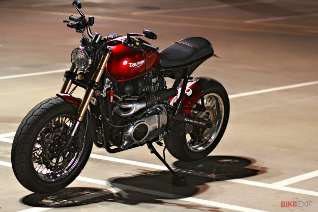 Triumph Bonneville custom by MeanMachines