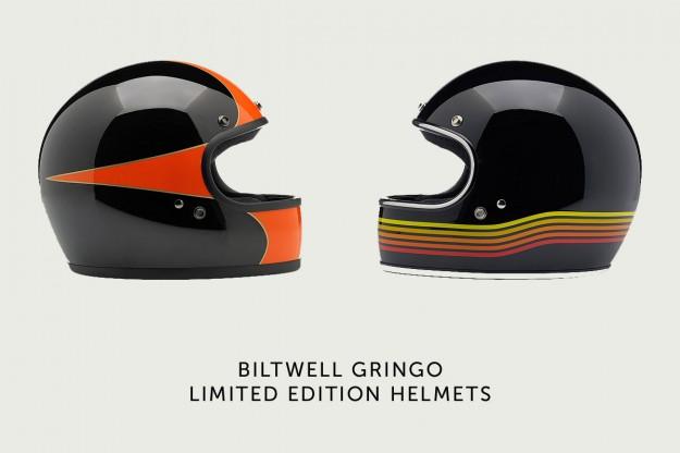 Biltwell motorcycle helmet