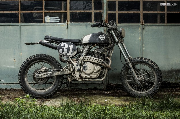 Honda NX650 by Anvil