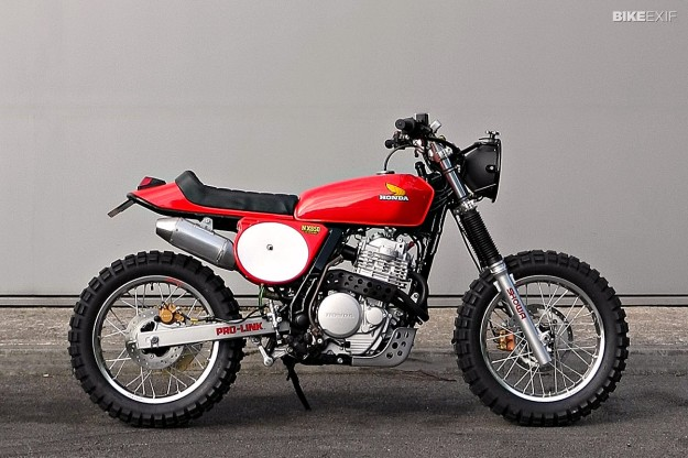 Honda NX650 by Andrew Greenland