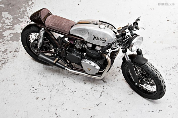 Triton motorcycle with Hinckley engine