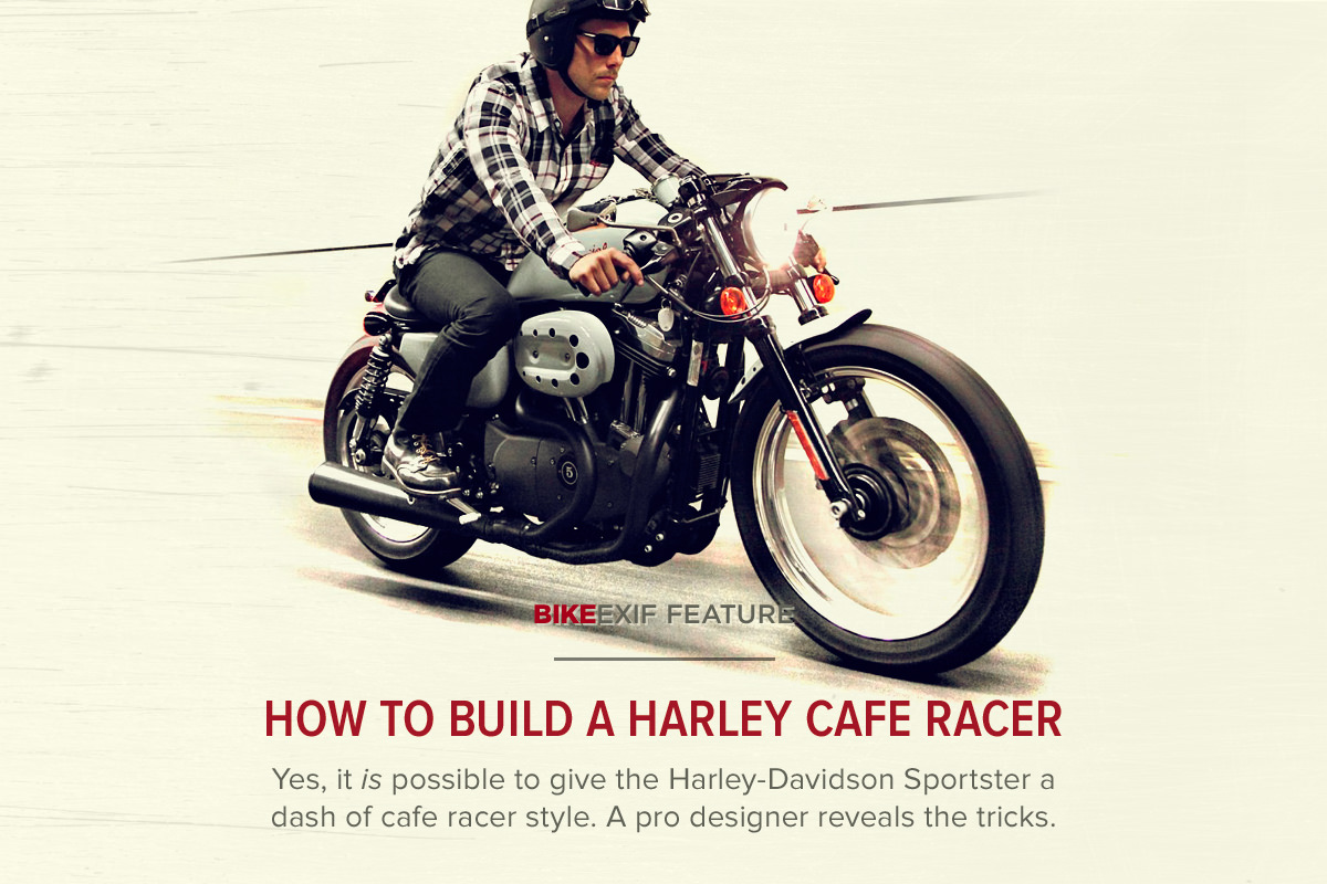 how to build a harley cafe racer | bike exif