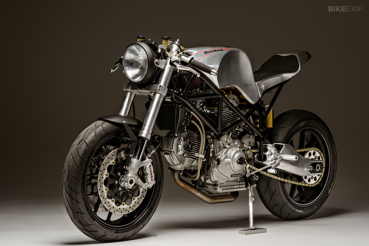 ducati 900ss custom by atom bomb bike exif. Black Bedroom Furniture Sets. Home Design Ideas