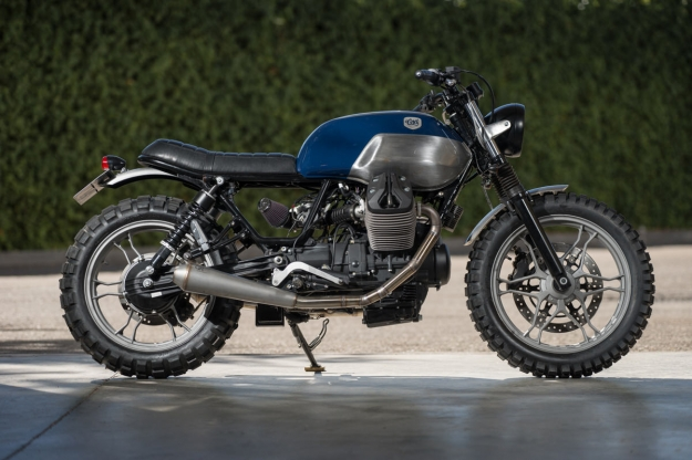 Moto Guzzi V7 customized by CRD