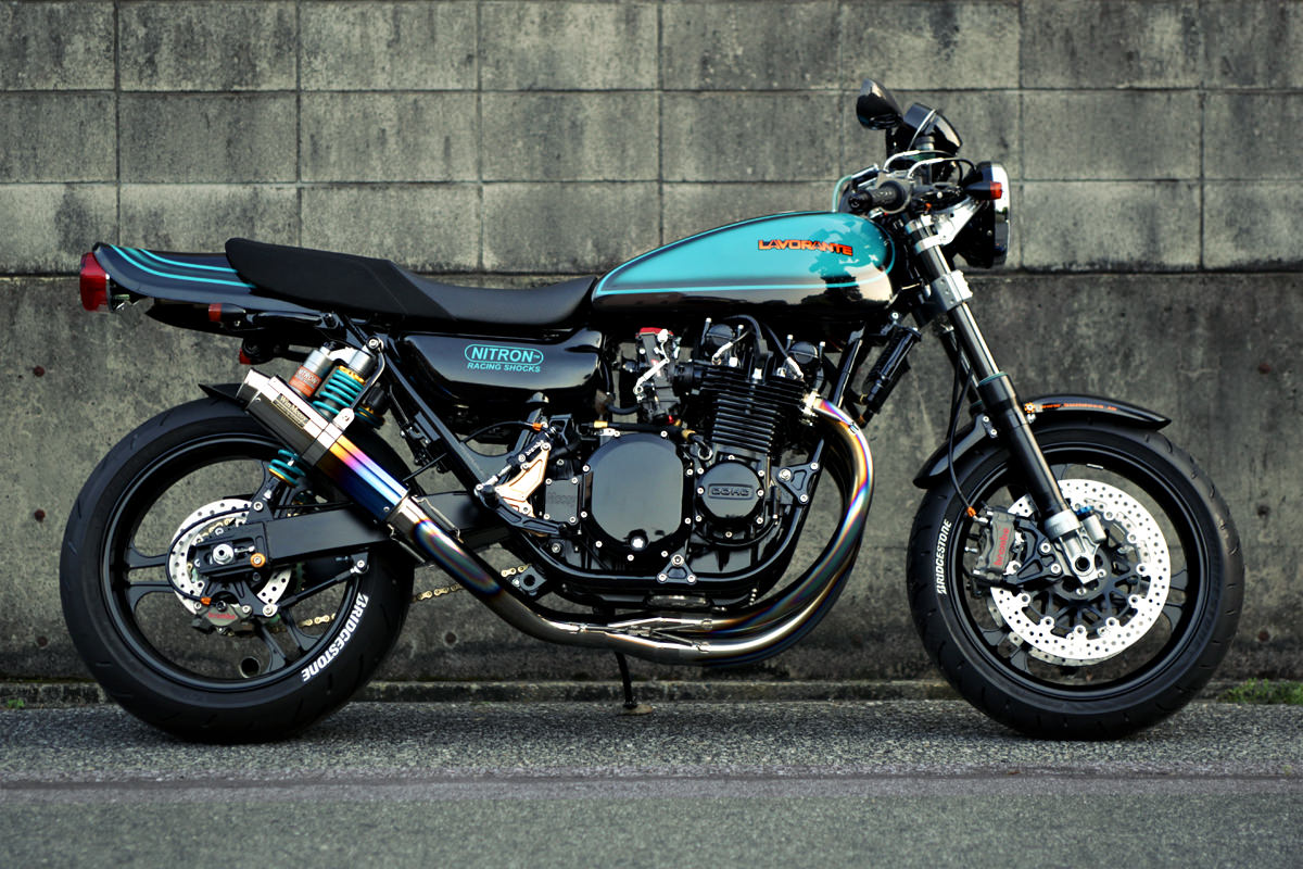 Kawasaki Z1 customized by Bulldock of Japan