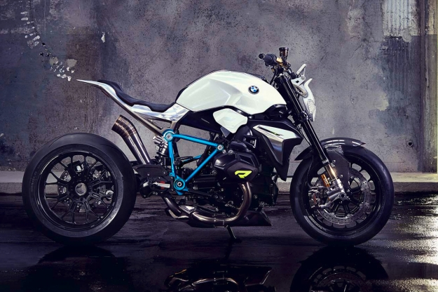BMW Concept Roadster motorcycle, 2014.