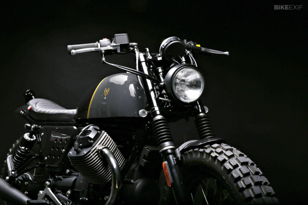 Moto Guzzi V7 Stone customized by Stefano Venier.