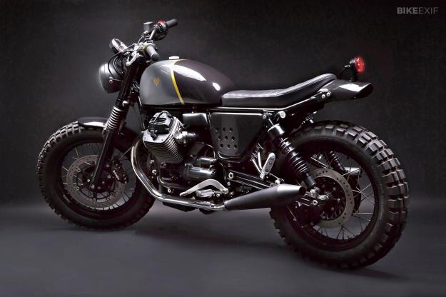Bike Exif Moto Guzzi Moto Guzzi V Stone by Venier
