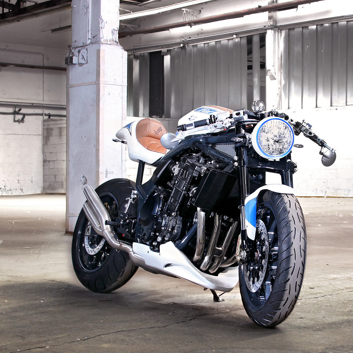 Suzuki Bandit 1250 customized by Daniel Händler adn Hans Muth