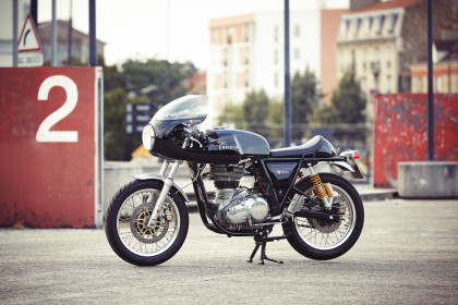 Fancying turning your Royal Enfield Continental GT into a racebike? This new kit from the French dealer Tendance Roadster is just the ticket.